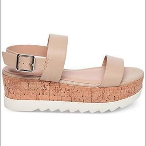 ff489c398f2 Madden Girl Shoes -  Madden Girl  Nude Sugar Flatform Sandals